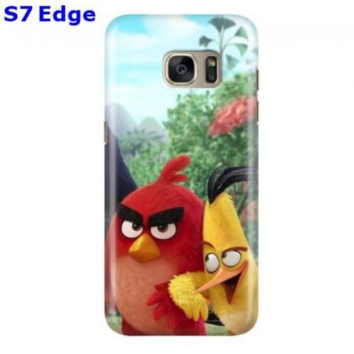 Ốp lưng samsung s7 edge in hình angry bird