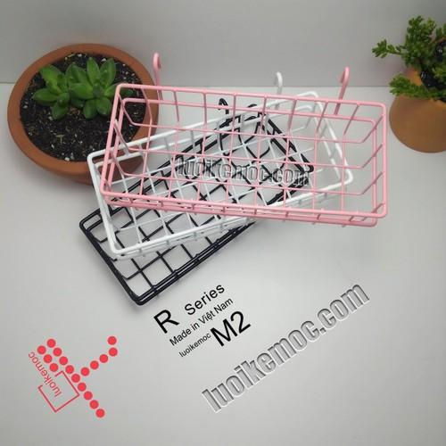 Rổ treo lưới m2 hồng