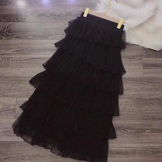 Chân váy ren dáng dài nhiều tầng - 220 thumbnail