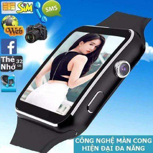 Đồng hồ thông minh x6 màn hình cong cao cấp
