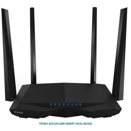 Phát wifi tenda ac6 4 anten
