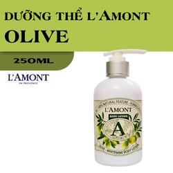 Sữa Dưỡng Thể Trắng Da LAmont En Provence Hương Olive & Honey 250ml