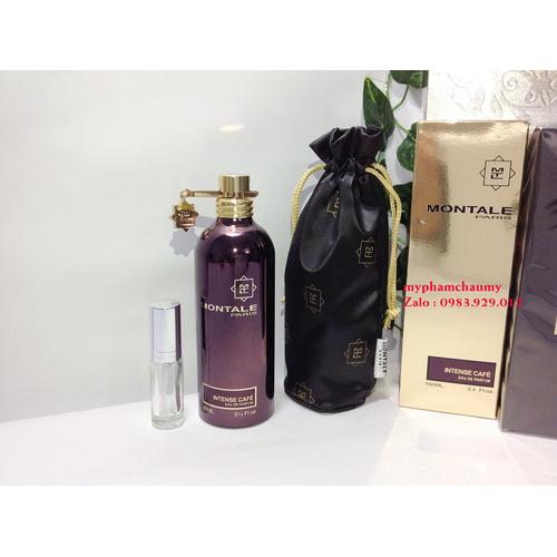 [ chiết 5ml ] nước hoa unisex montale paris intense cafe - mẫu thử 5ml