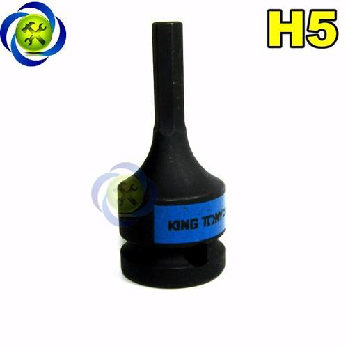Đầu tuýp đen lục giác 5mm kingtony 405505 1 phần 2