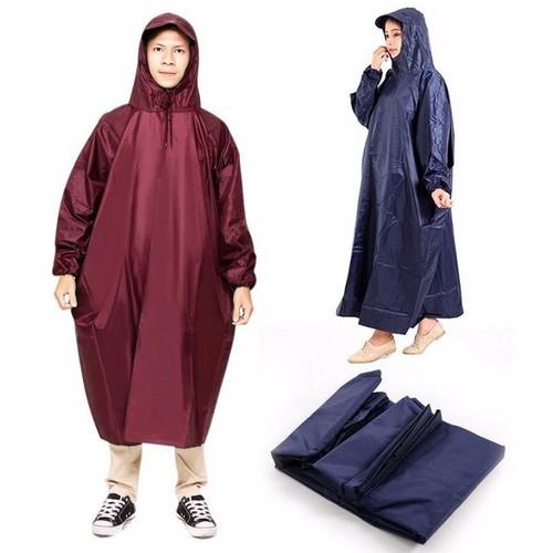 Combo 2 áo mưa không xẻ tà