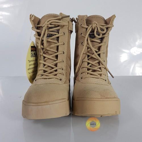 Giày swat cao cổ - màu vàng cát - 17399244 , 20853749 , 15_20853749 , 550000 , Giay-swat-cao-co-mau-vang-cat-15_20853749 , sendo.vn , Giày swat cao cổ - màu vàng cát