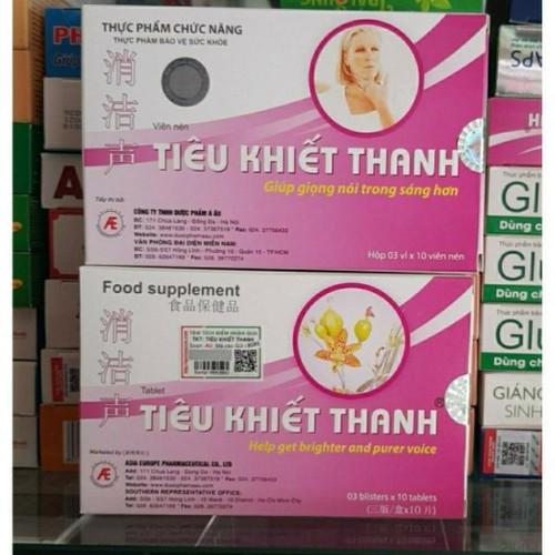 Tiêu khiết thanh trị khàn giọng – hỗ trợ điều trị viêm thanh quản, mất tiếng, viêm amidan, sưng họng - 17406411 , 20864570 , 15_20864570 , 160000 , Tieu-khiet-thanh-tri-khan-giong-ho-tro-dieu-tri-viem-thanh-quan-mat-tieng-viem-amidan-sung-hong-15_20864570 , sendo.vn , Tiêu khiết thanh trị khàn giọng – hỗ trợ điều trị viêm thanh quản, mất tiếng, viêm a