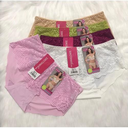 Combo 4 cái quần lót nữ hàng su đúc phối ren hàng xịn sò - 12895352 , 20852958 , 15_20852958 , 169000 , Combo-4-cai-quan-lot-nu-hang-su-duc-phoi-ren-hang-xin-so-15_20852958 , sendo.vn , Combo 4 cái quần lót nữ hàng su đúc phối ren hàng xịn sò