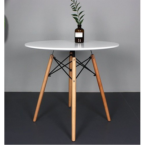 Bàn cà phê gỗ nhựa chân cao gp61- mặt bàn gỗ nhựa