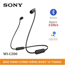 Tai Nghe In-Ear không dây Sony WI-C200 - WIC200_New