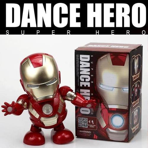 Robot hero dance nhảy theo nhạc xoay 360 độ - 12892973 , 20850131 , 15_20850131 , 220000 , Robot-hero-dance-nhay-theo-nhac-xoay-360-do-15_20850131 , sendo.vn , Robot hero dance nhảy theo nhạc xoay 360 độ