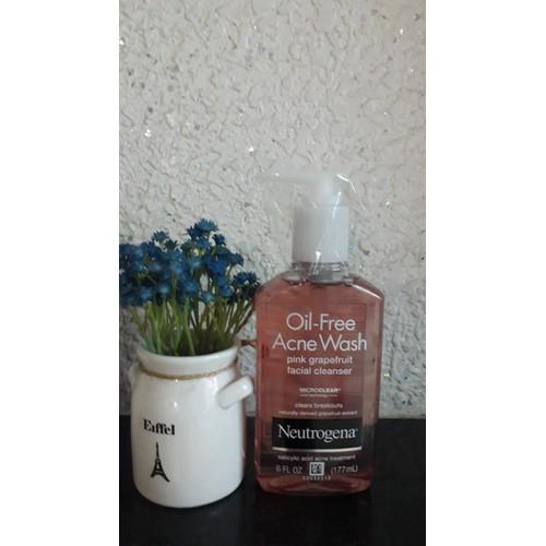 Sữa rửa mặt dạng gel neutrogena oil-free acne wash facial cleanser 177ml của mỹ - 17402448 , 20858892 , 15_20858892 , 220000 , Sua-rua-mat-dang-gel-neutrogena-oil-free-acne-wash-facial-cleanser-177ml-cua-my-15_20858892 , sendo.vn , Sữa rửa mặt dạng gel neutrogena oil-free acne wash facial cleanser 177ml của mỹ