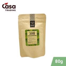 Bột ca cao nguyên chất Cacao Mi loại Original chuẩn Keto - 80g