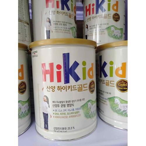 Sữa Hikid dê Hàn Quốc 700g - 11374499 , 20849306 , 15_20849306 , 690000 , Sua-Hikid-de-Han-Quoc-700g-15_20849306 , sendo.vn , Sữa Hikid dê Hàn Quốc 700g