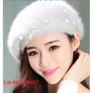 nón Mũ len bere nữ cao cấp L12BR1904 - L12BR1904l thumbnail