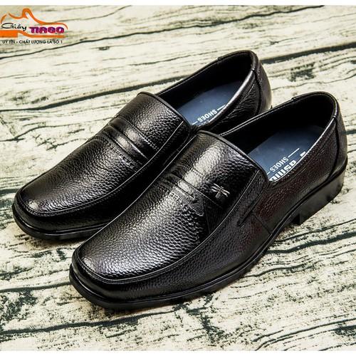 Giày nam trung niên da bò thật- bh 1 năm