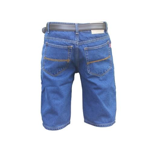 Quần short jean nam cổ điển