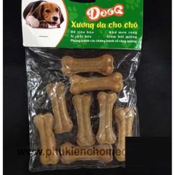 Xương da DOOG 2 8c xương chó gặm túi 8 xương ống nhỏ đồ ăn chó