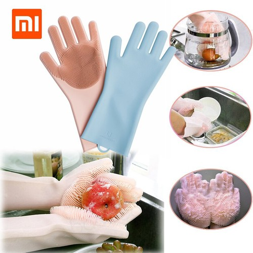 Găng tay vệ sinh silicon cách nhiệt xiaomi judy