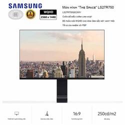 Màn hình máy tính Samsung The Space LS27R750QEEXXV 27 inch Ultra HD 2K 144Hz - LS27R750QEEXXV