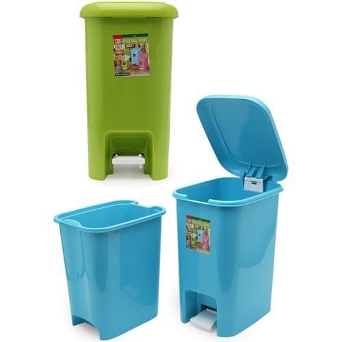 Thùng rác đạp chân cao cấp sawady 15l giao màu ngẫu nhiên - trd - thùng rác đạp chân sawady