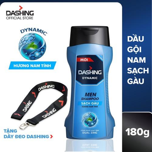 Dầu gội sạch gàu dành cho nam giới dashing dynamic men shampoo 180g - tặng dây đeo - 17413823 , 20876835 , 15_20876835 , 51000 , Dau-goi-sach-gau-danh-cho-nam-gioi-dashing-dynamic-men-shampoo-180g-tang-day-deo-15_20876835 , sendo.vn , Dầu gội sạch gàu dành cho nam giới dashing dynamic men shampoo 180g - tặng dây đeo