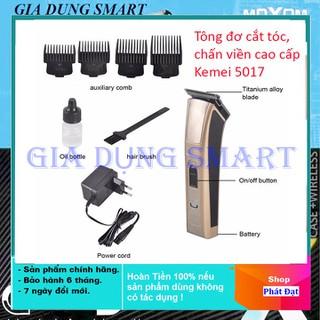 [SALE KHỔNG LỒ] Tông đơ tạo kiểu Chấn viền Kemei KM-5017 Tông đơ cắt tóc trẻ em cao cấp tại nhà - tông đơ chấn viền KM 5017 thumbnail