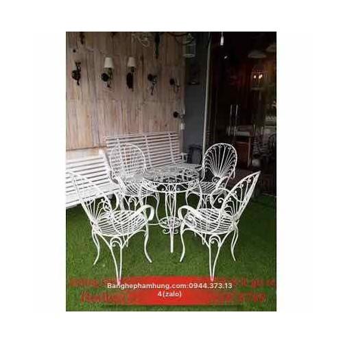 bàn ghế sắt mỹ nghệ