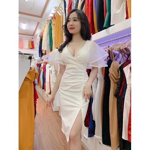 Đầm nữ tay lưới Cát Hàn