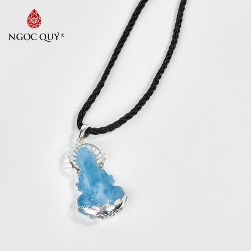 Mặt dây chuyền phật bà quan âm đá aquamarine 5x2.3cm - ngọc quý gemstones - 17419485 , 20885730 , 15_20885730 , 2370000 , Mat-day-chuyen-phat-ba-quan-am-da-aquamarine-5x2.3cm-ngoc-quy-gemstones-15_20885730 , sendo.vn , Mặt dây chuyền phật bà quan âm đá aquamarine 5x2.3cm - ngọc quý gemstones