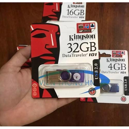 USB 2.0 Kingston 32GB DT101 G2 tím - CAM KẾT BH 5 NĂM 1 ĐỔI 1
