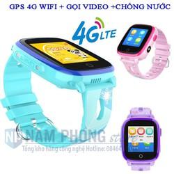 Đồng hồ định vị Trẻ em GPS WiFi 4G DF33 Có chế độ Gọi Video siêu tiện dụng, Công nghệ vượt trội về định vị và Call Video, Chống Nước tuyệt đối IP67