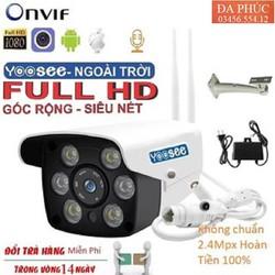 CAMERA YOOSEE NGOÀI TRỜI 6 LED 2 RÂU- Camera Quan Sát độ phân giải Full Hd 1080P, hồng ngoại, có 6 đèn led ban đêm
