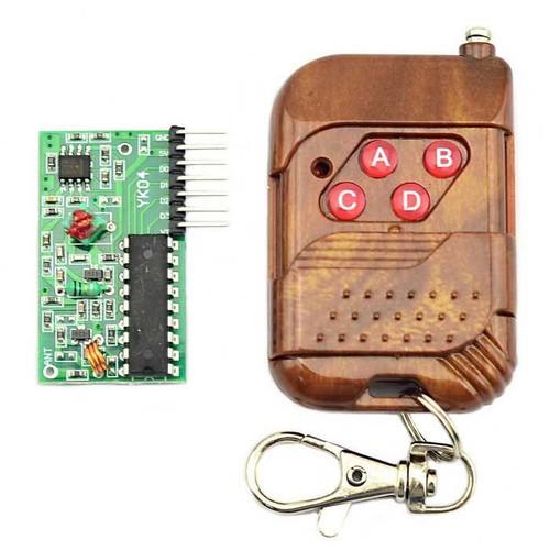 Mạch Thu RF 315Mhz PT2272-L4 + Remote 4 Kênh - 12913971 , 20888127 , 15_20888127 , 63000 , Mach-Thu-RF-315Mhz-PT2272-L4-Remote-4-Kenh-15_20888127 , sendo.vn , Mạch Thu RF 315Mhz PT2272-L4 + Remote 4 Kênh