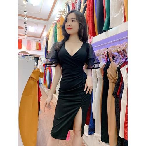Đầm nữ tay lưới Cát Hàn - 12913437 , 20887472 , 15_20887472 , 125000 , Dam-nu-tay-luoi-Cat-Han-15_20887472 , sendo.vn , Đầm nữ tay lưới Cát Hàn