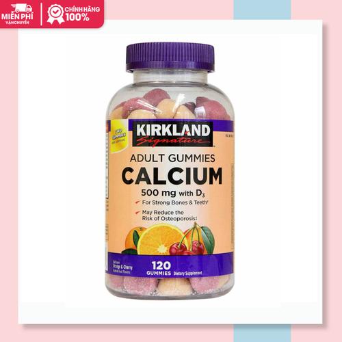 Kẹo dẻo bổ sung canxi kirkland adult gummies calcium keo deo gummies xuất xứ mỹ 120 viên - 17415406 , 20879141 , 15_20879141 , 320000 , Keo-deo-bo-sung-canxi-kirkland-adult-gummies-calciumkeo-deo-gummies-xuat-xu-my-120-vien-15_20879141 , sendo.vn , Kẹo dẻo bổ sung canxi kirkland adult gummies calcium keo deo gummies xuất xứ mỹ 120 viên