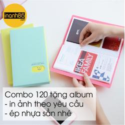 Combo album 120 hình kèm ảnh