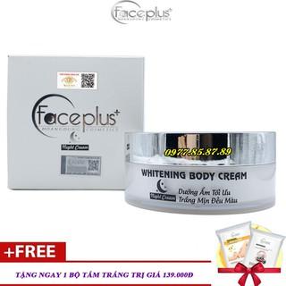 Kem dưỡng trắng da toàn thân ban đêm FacePlus+ Tặng 1 gói tắm trắng - FPL-TTBĐ397 thumbnail