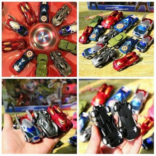 Sét ô tô siêu anh hùng 14 chiếc