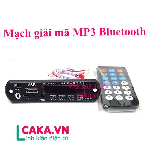 Mạch giải mã mp3 bluetooth 12v