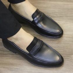 Giày lười DA nam cao cấp, đế cao su số 38- 43