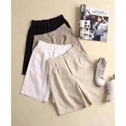 Quần sooc nữ, quần short đùi vải đũi xước xuất Hàn có big size đến 9XL_Xem hàng trước khi thanh toán