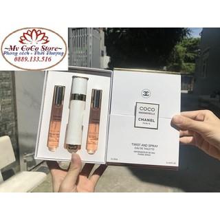Nước hoa Pháp - Bộ 3 Nước hoa COCO CHANEL 18ml - Bao Test - B3CC thumbnail