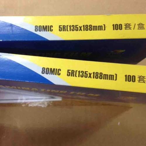 Giấy ép plastic cho ảnh khổ 135x188mm - 5r 135x188mm