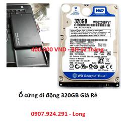 Ổ Cứng Di Động 320GB Box 320GB BH 12 Tháng
