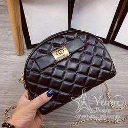 [Tặng 1 Khẩu Trang Su Dày Kháng Khuẩn Khi Mua] Túi Hến  Đeo Chéo 2 Ngăn Form Mềm - Yuna Boutique