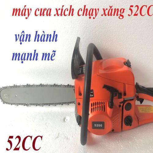 Máy cưa xích chạy xăng - 52cc - 12607970 , 20448391 , 15_20448391 , 1148000 , May-cua-xich-chay-xang-52cc-15_20448391 , sendo.vn , Máy cưa xích chạy xăng - 52cc
