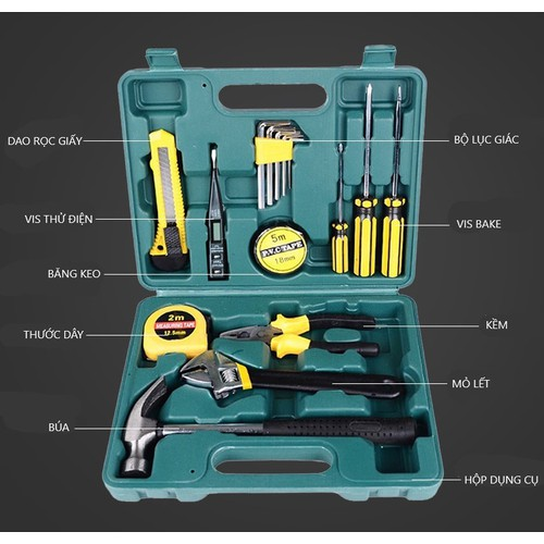 Hộp đồ nghề dụng cụ sửa chữa đa năng 16 món loại lớn - 12277002 , 20432560 , 15_20432560 , 245000 , Hop-do-nghe-dung-cu-sua-chua-da-nang-16-mon-loai-lon-15_20432560 , sendo.vn , Hộp đồ nghề dụng cụ sửa chữa đa năng 16 món loại lớn
