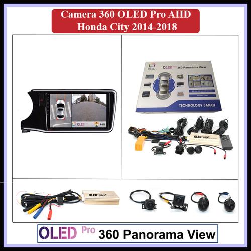 Camera 360 oled pro ahd cho xe honda city 2014-2018