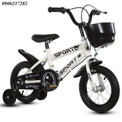 Xe đạp trẻ em SPORT,2-6 tuổi, vành nan 12inch- xe đạp sport khỏe khắn- quà tặng xe đạp- xe cao cấp RE0513